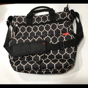 Skip Hop Diaper Bag with Changing Pad.